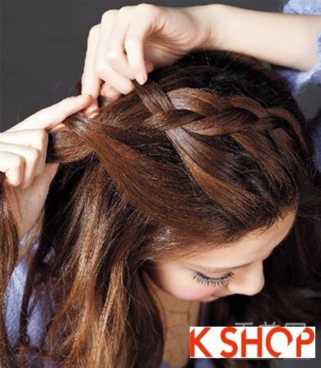 2 kiểu tóc tết đơn giản nhưng dễ thương giành cho nàng