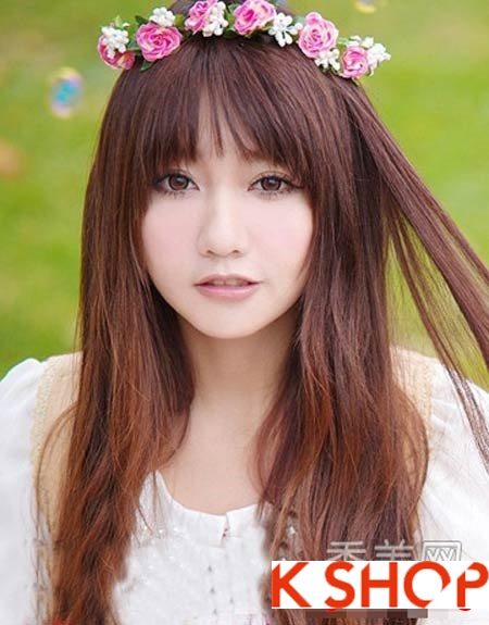 4 kiểu tóc mái đẹp dễ thương cá tính như sao hàn