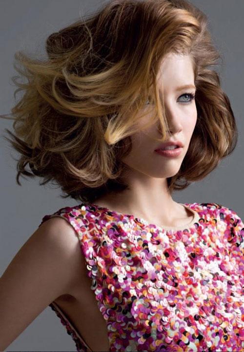5 mẫu tóc ngắn ngang vai cho nàng thêm duyên dáng