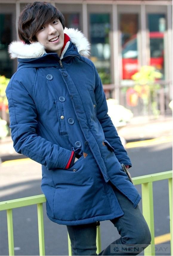 Áo khoác bắc cực parka nhìn thôi cũng đủ thấy ấm