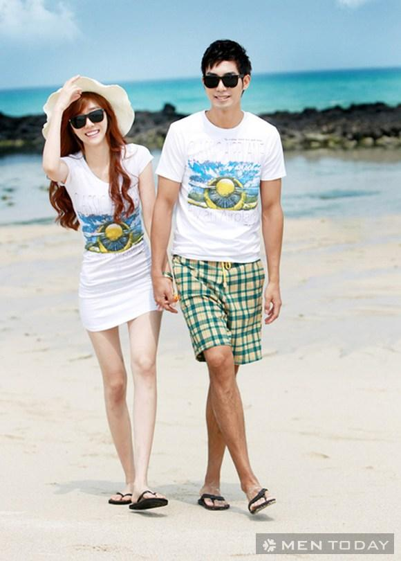Biến hóa đồ đôi khi đi biển cùng người yêu