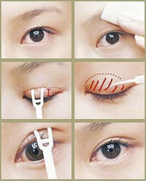Cách biến mắt một mí thành hai mí trong tích tắc