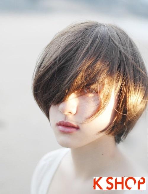 Cách để tóc ngắn hàn quốc cá tính cho nàng dạo phố