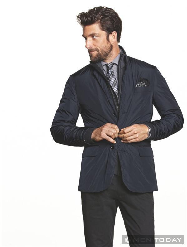 chuẩn men với thời trang nam thu đông từ he by mango