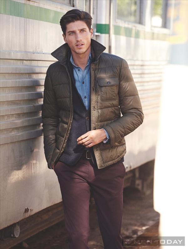 Chuẩn men với thời trang nam thu đông từ H.E by Mango độc đáo