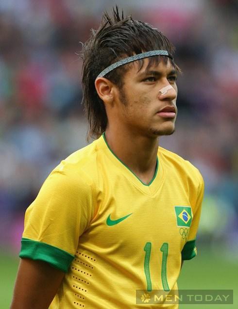 Để tóc sành điệu như neymar
