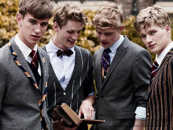 học theo phong cách preppy có thể giúp bạn trẻ ra vài tuổi