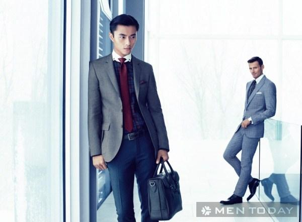 Hugo boss với bst thời trang nam thu đông autumn in london