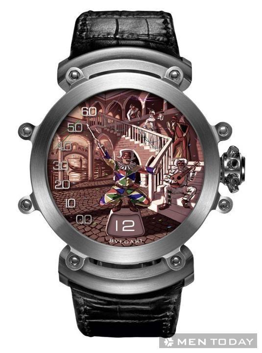 Kiệt tác đồng hồ bvlgari commedia dell arte