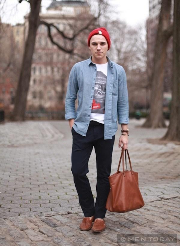 Mặc cực chất như fashion icon justin livingston