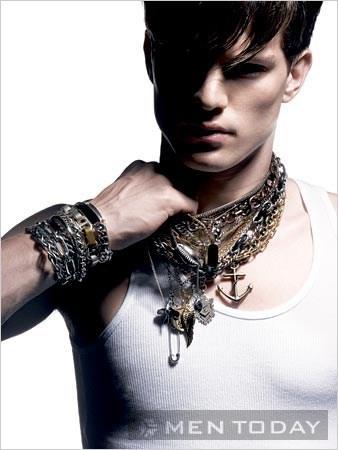 mẹo nhỏ để chọn và sử dụng phụ kiện trang sức cho nam