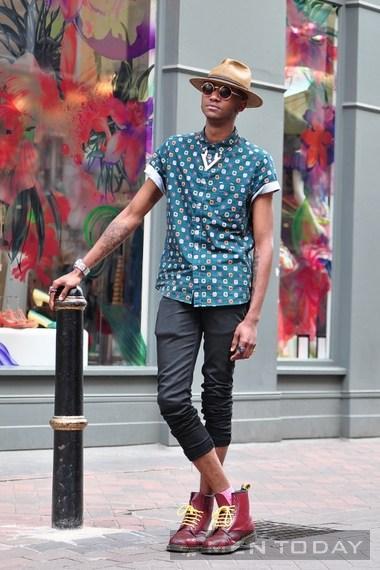 Năng động với street style cho các chàng