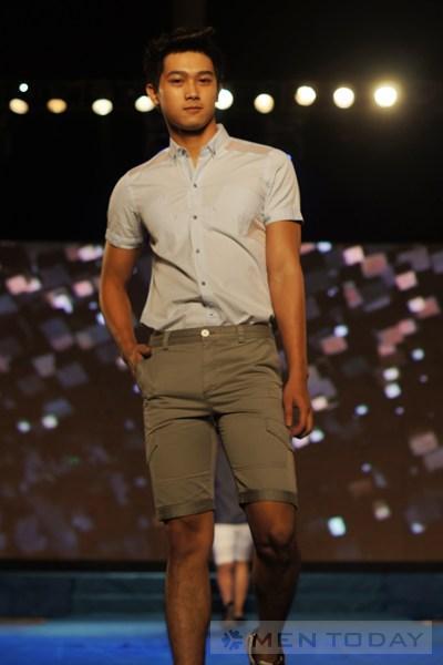 Ngắm lại bst thời trang nam xuân hè 2013