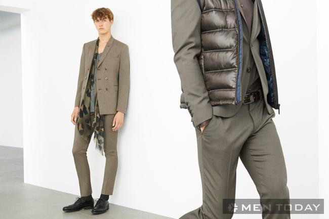 Ngắm lại lookbook thời trang nam thu đông cực chất của zara