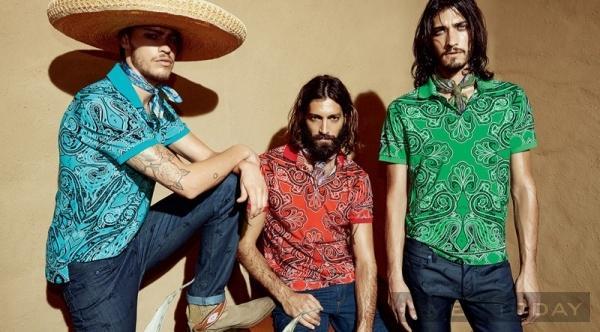 Ngắm lại lookbook thời trang nam xuân hè 2014 của etro