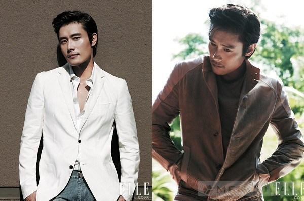 Ngôi sao chiếm lĩnh tạp chí thời trang lee byung hun
