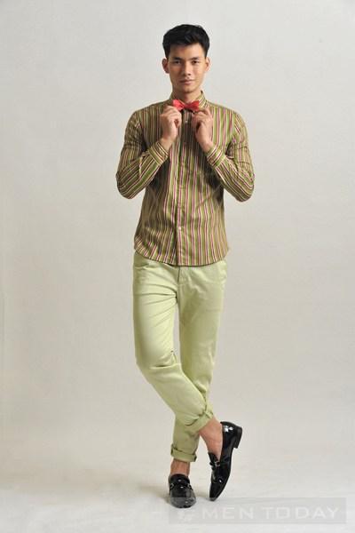 Nhan phúc vinh bảnh bao với trang phục sắc màu