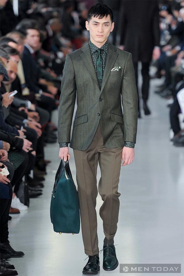 Nhìn lại bst thời trang nam thu đông 2014 từ richard james