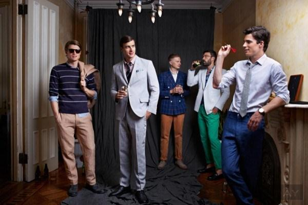 Nhìn lại bst thời trang xuân hè 2014 của haspel