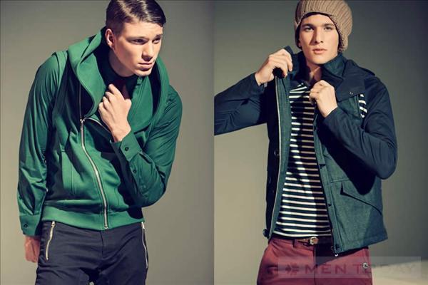 Nhìn lại xu hướng thời trang nam thu đông độc đáo 2012 từ NN