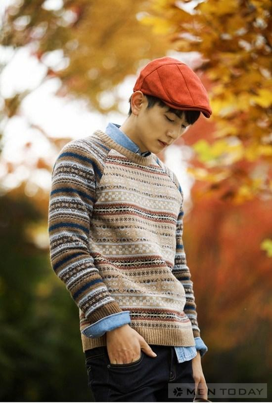 Những kiểu mũ ấm ấp và phong cách cho chàng ngày đông