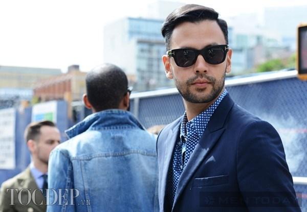 Những kiểu tóc nam bắt mắt trên đường phố new york