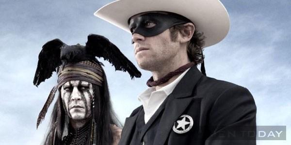 Phong cách ấn tượng của johnny depp trong the lone ranger