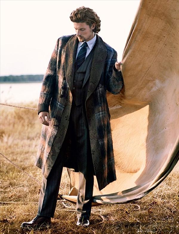 Phong cách cổ điển phong trần như quý ông trên vogue hombre