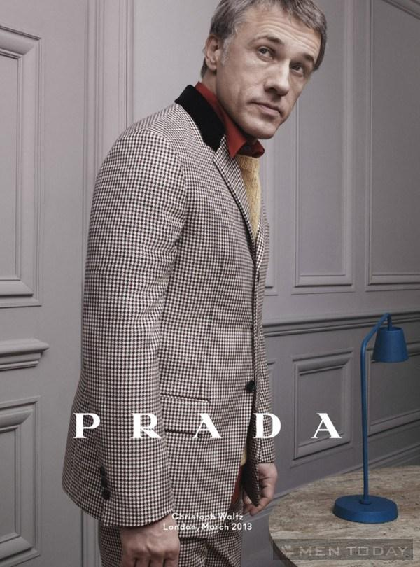 Prada mens và emprorio armani và chiến dịch thu đông 2013