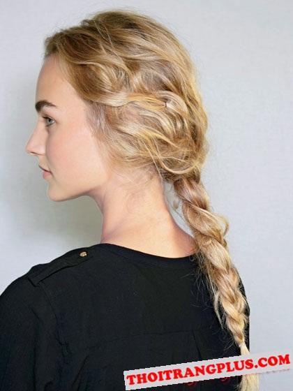 Quyến rũ với kiểu tóc phong cách châu âu