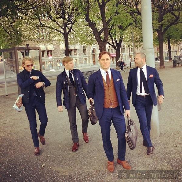 Street style cho các chàng trai cuối tháng 5
