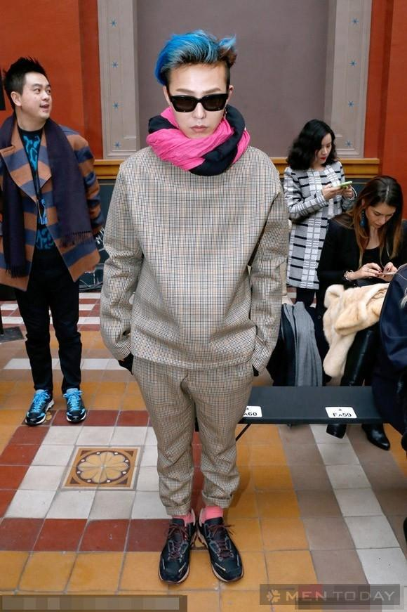 Style chất lừ của taeyang vs g-dragon tại paris