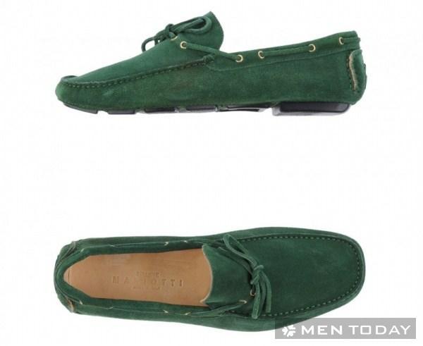 Thời trang cho những chàng thích màu xanh ngọc lục bảo