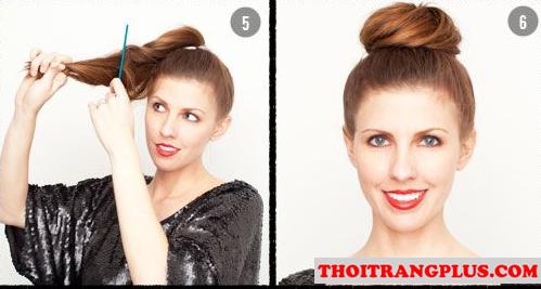 Tóc búi phù hợp với từng kiểu khuôn mặt nàng