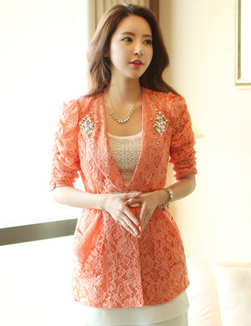 3 kiểu áo vest nữ công sở phong cách hàn năm 2017