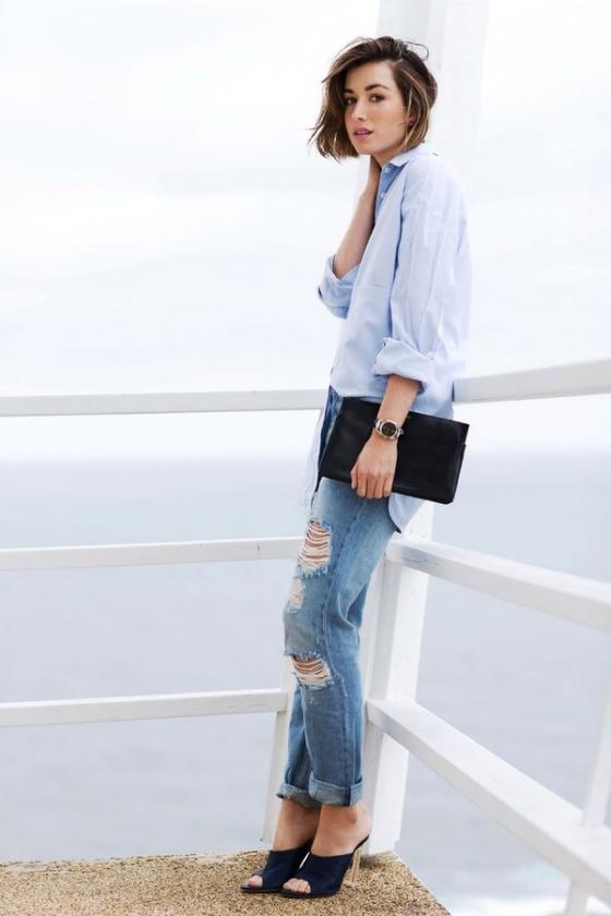 5 kiểu áo công sở trẻ trung cho nàng mát dịu ngày hè