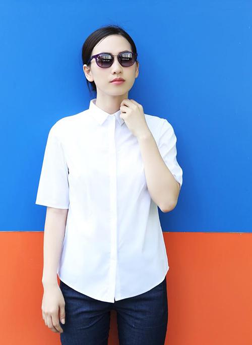 Bst áo sơ mi nữ xuân hè 2016 cho bạn gái công sở cá tính
