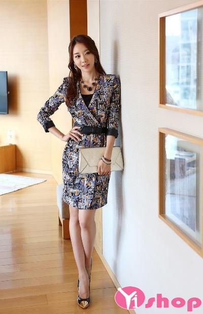 Những kiểu váy liền thân đẹp cho nàng thanh lịch