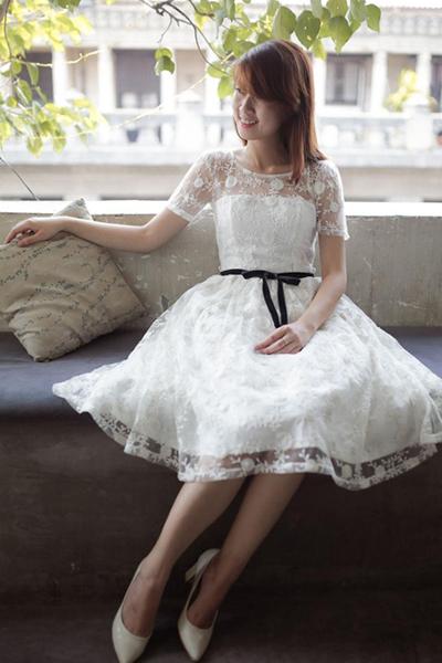 Váy đầm đẹp hè 2017 kiểu hàn quốc cho nàng công sở duyên dáng