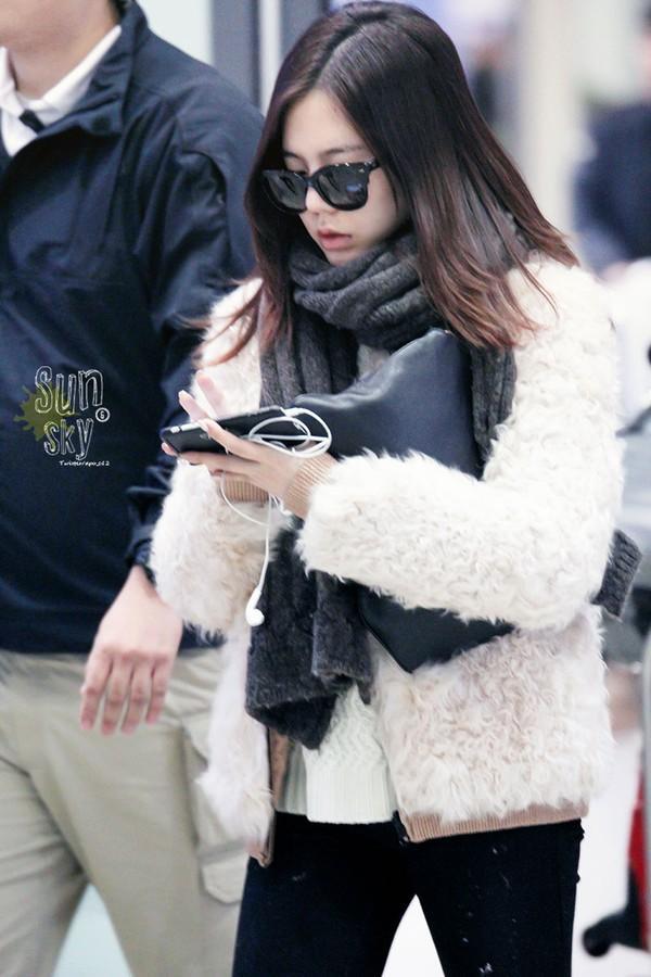 5 kiểu áo khoác nữ ấm áp thời trang đông của snsd
