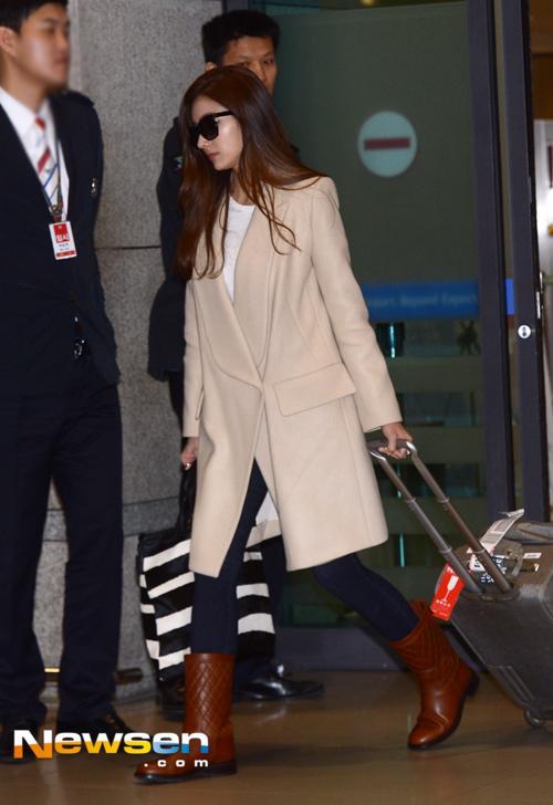 Áo khoác măng tô dáng dài cho nàng thêm đẹp