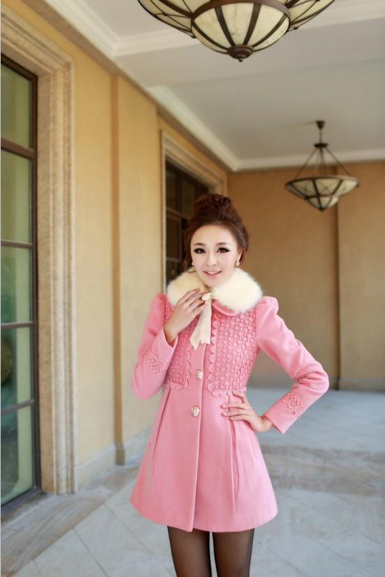 Áo khoác nữ hồng đẹp trang nhã cho nàng công sở