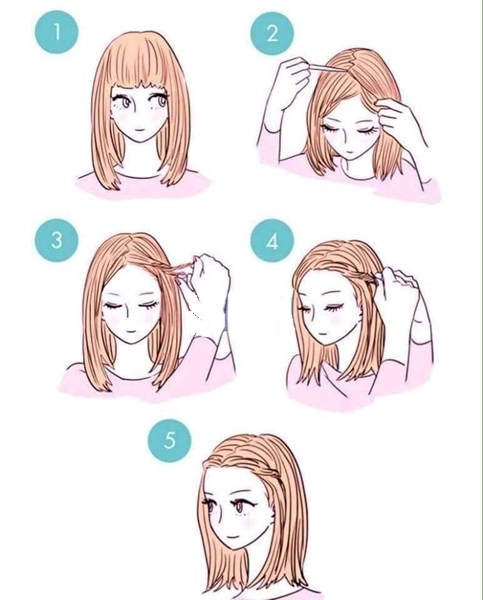 Những kiểu tóc đơn giản siêu dễ làm giúp bạn gái xinh hơn