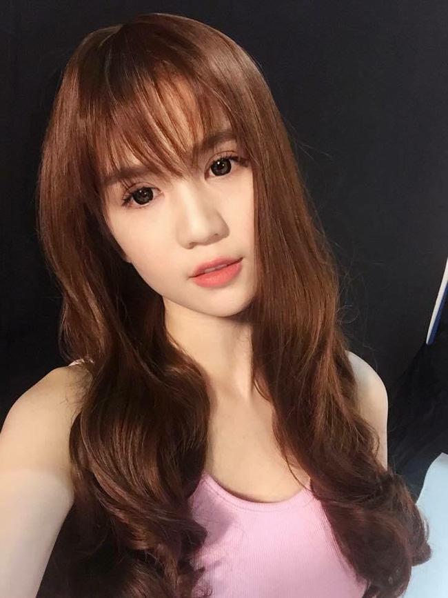 Tóc mới tuyệt đẹp của ngọc trinh xinh ơi là xinh