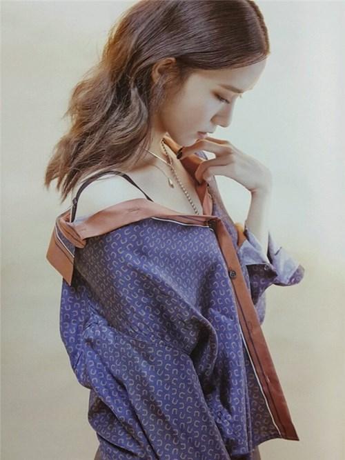 Yoona táo bạo trên tạp chí high cut