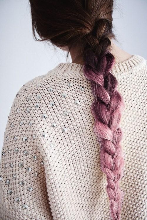 Những bím tóc ombre tóc đẹp đến mê hồn