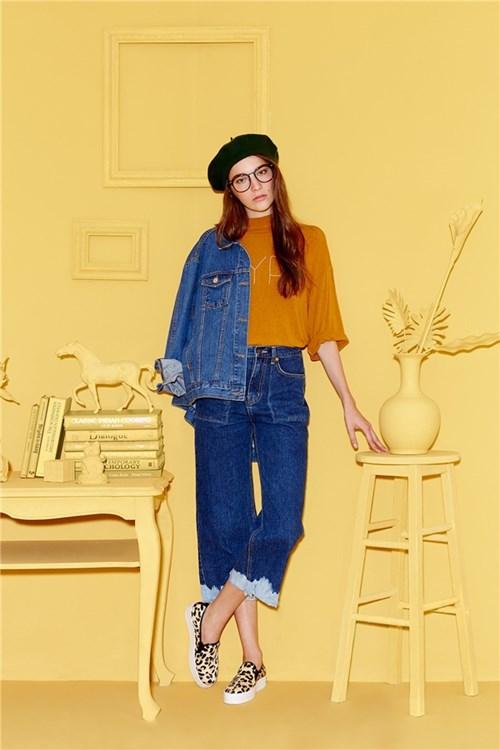 Quần jeans 2 màu xu hướng hè thu 2016