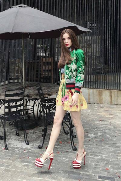 Phá cách với thời trang bất chấp thời tiết của sao