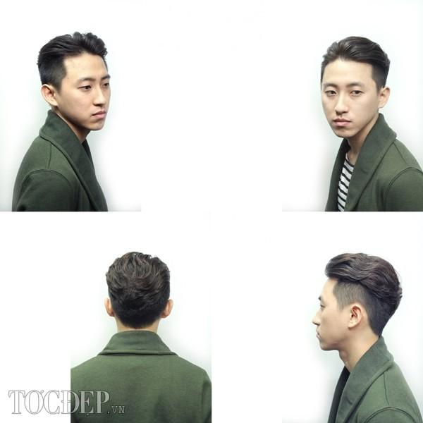10 kiểu tóc nam dựng ngược hợp với khuôn mặt dài