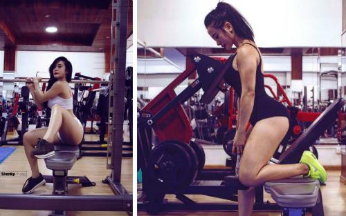 9x tập gym 4 năm để có vẻ đẹp latin nóng bỏng